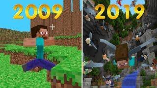 Эволюция мини игр в майнкрафте 2009-2019 - Minecraft