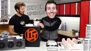 Upgrading our Server with LINUS...