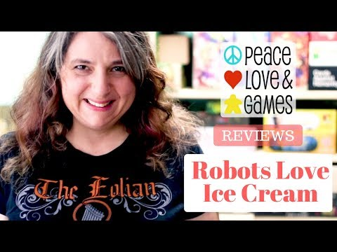 Robots Love Ice Cream - Card Game Review