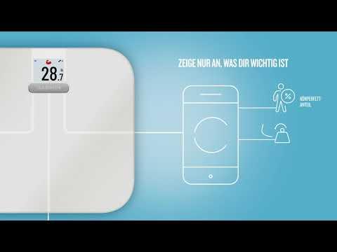 Garmin Index S2 Smart Scale (Android, iOS, Gerätedisplay)