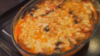 Жирные баклажаны по-пармски запеченные с сыром (вкусные как мясо...почти)