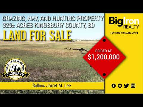 320+/- Acres Kingsbury County, SD