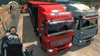 Путешествие в онлайне на самом PREMIUM(нет) грузовике в Euro Truck Simulator 2