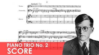 SHOSTAKOVICH Piano Trio No. 2 in E minor (Op. 67) Score