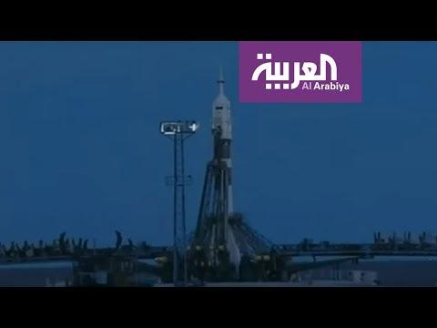 العرب اليوم - شاهد: لحظة انطلاق رحلة أول رائد فضاء إماراتي
