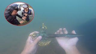"""พา DJ POOM ดำน้ำหา [สมบัติ] แม่น้ำในพม่า""""เจอขวานทอง""""โบราณพม่า!!!"""
