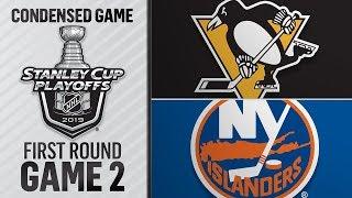 04/12/19 First Round, Gm2: Penguins @ Islanders