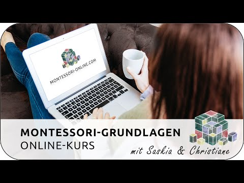 Montessori-Grundlagen Online-Kurs   MONTESSORI-ONLINE.COM 💚