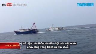 Truyền Hình VOA 10/4/19: Kiểm Ngư Việt Nam Dùng Vòi Rồng 'xua' Tàu Cá Trung Quốc