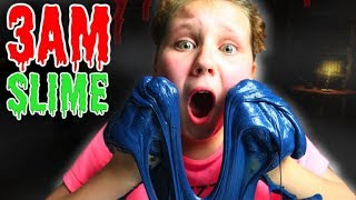 DO NOT MAKE FLUFFY SLIME AT 3AM!! OMG SO SCARY!!