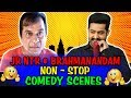Jr NTR & Brahmanandam Non-Stop Comedy Scenes   South Indian Hindi Dubbed Best Comedy Scenes