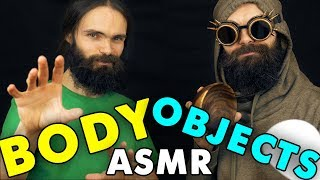 BODY ASMR vs OBJECTS ASMR (10 triggers battle)