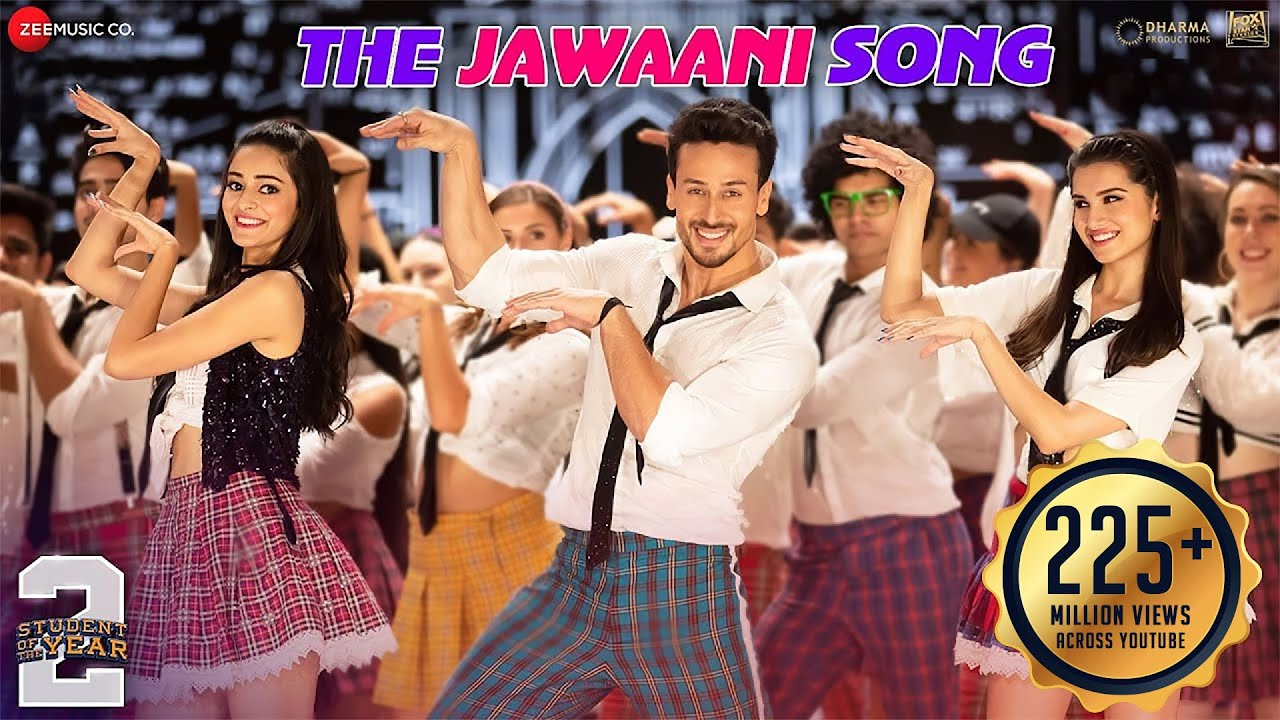 The Jawaani Lyrics - Student Of The Year 2 (2019) Tiger Shroff, Tara & Ananya, Download Student Of The Year 2 Hindi Movie Song The Jawaani, Vishal & Shekhar