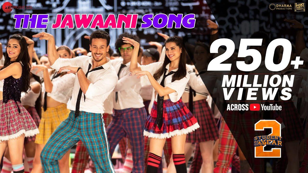 The Jawaani Lyrics - Student Of The Year 2 (2019) Tiger Shroff, Tara & Ananya, Download Student Of The Year 2 Hindi Movie Song The Jawaani, Vishal & Shekhar