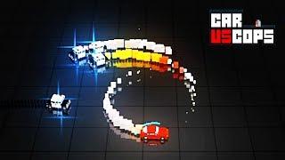 ТАЧКИ против КОПОВ убивалка времени на тачках ЗАБАВНАЯ мультяшная игра про машинки kids game car cop