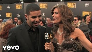 Drake - 2009 Red Carpet Interview (American Music Awards)