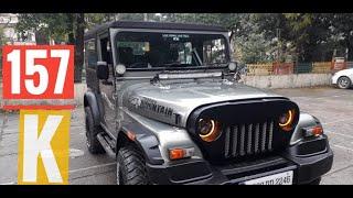 Mahindra Thar 4x4 Modified Semi Hartop with Attractive Interior Dh Thar Modification 9888993343