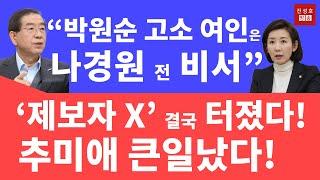 박원순과 나경원의 오랜 악연! (진성호의 직설)