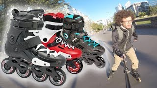 TOP 13 INLINE SKATES FOR BEGINNERS