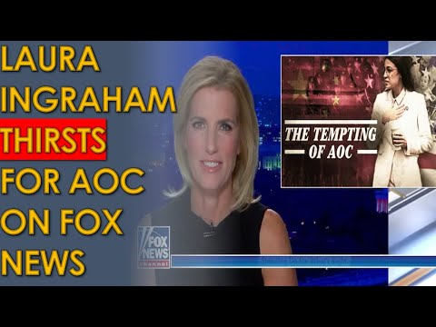 Laura Ingraham DESPERATELY tries to turn AOC into a Republican on Fox News