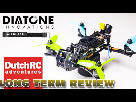 LONG term review of the Diatone TMC Airblade 4K freestyle drone :)