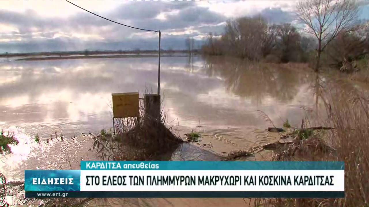 Οι βροχοπτώσεις επιδείνωσαν την κατάσταση στην Καρδίτσα | 05/01/2021 | ΕΡΤ