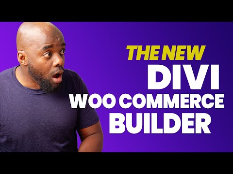Divi Woocommerce builder - This is a game changer!