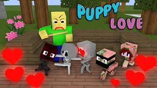 Monster School | Puppy Love | Monster School