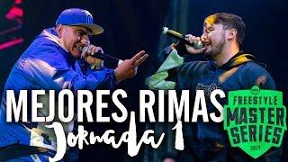 Las MEJORES RIMAS De La PRIMERA JORNADA De La FMS MÉXICO 2019 | Jornada 1 - FMS CDMX