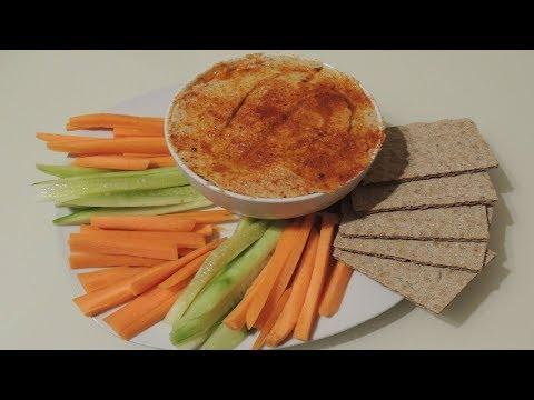 Hummus de garbanzos con Monsieur Cuisine Plus (Receta sin robot en el blog)