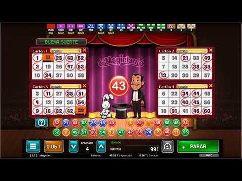 Magician - Bingo Gratis de MGA