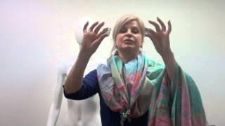 Узлы на платках с фурнитурой (часть 2)