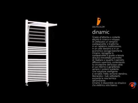 Dinamic, radiador toallero de Deltacalor para calefacción en el baño