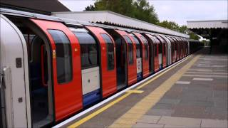preview picture of video '[London Underground] [HD] Central line 1992 Tube Stock trains at Fairlop'