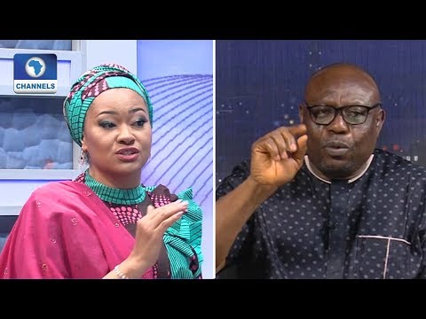 Natasha Akpoti Protests Disqualification By INEC