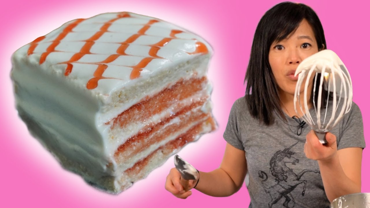 15 Minute BIRTHDAY CAKE & how to make milk powder whipped topping | No Oven Pantry Eats