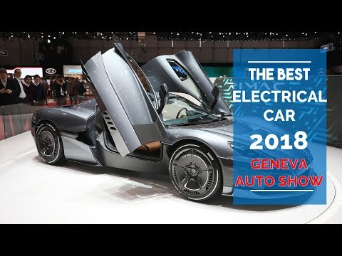 AMAZING! The Best Electric Car From The Geneva Motor Show 2018
