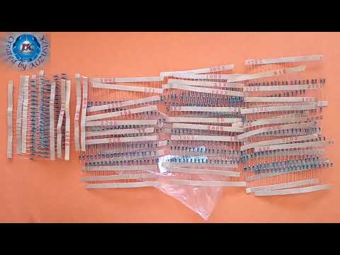 600pcs Resistors-30 kinds-20pcs of each value 10R-1M-Banggood.com