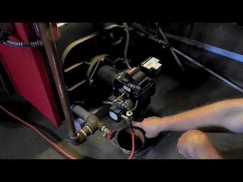 How to restart (Prime) an oil burner boiler furnace hot water heater