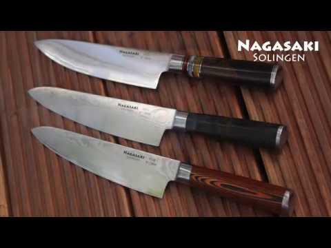 Nagasaki Nakiri séf kés,damaszkus kés,konyhakés,német főző kés,Sternsteiger kés,kés,