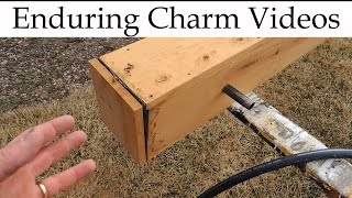 Make A Steam Box To Bend Wood