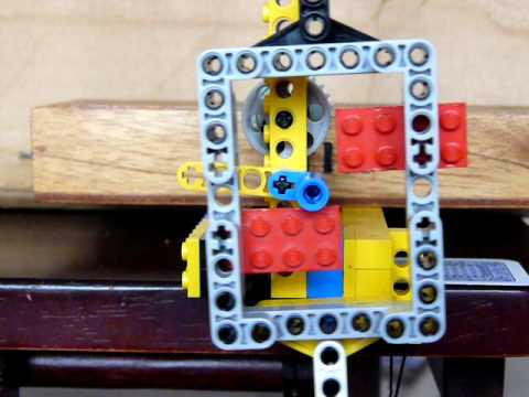 Macdowall S Single Pin Escapement For A Pendulum Clock Using Lego