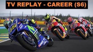 MotoGP 17 | CAREER RACE #97 | MotoGP | FRANCE 5/18 | TV REPLAY | GAME