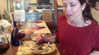 preview picture of video 'Eating authentic Tuscan food (tongue!) in Fiesole, Italy'