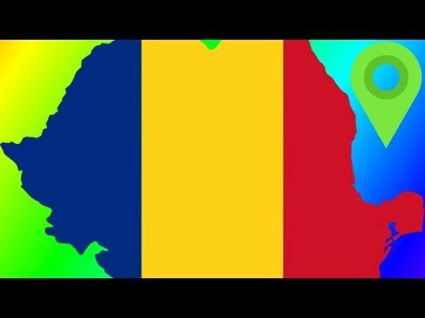Romania's Borders & Suspiciously Similar Flags