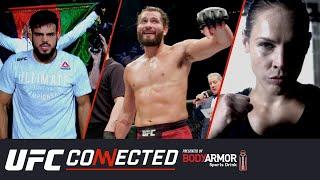 UFC Connected: Хорхе Масвидаль, Насрат Хакпараст, Лина Лансберг, Джек Шор