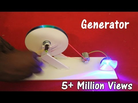 How to make a Generator at home – Easy
