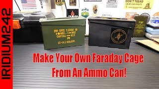 Make Your Own Faraday Cage!