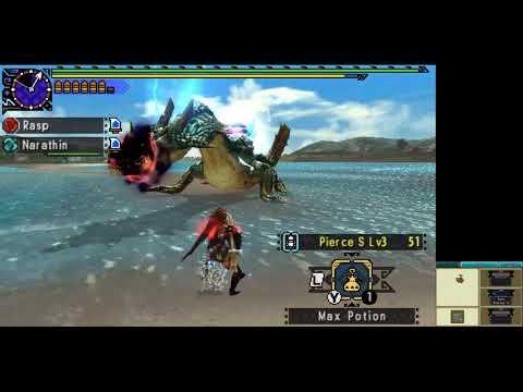 Monster Hunter XX Longsword G Rank Event Quest Hyper