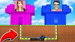 Minecraft ITA - CASTELLO DI PHERE VS CASTELLO DI STEF